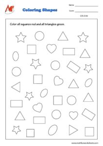 Coloring Shapes