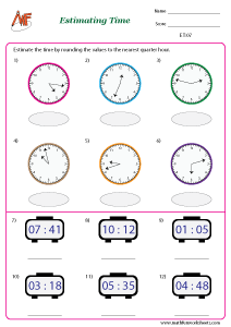 Estimating Time and Money