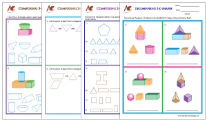 Compose and Decompose shapes
